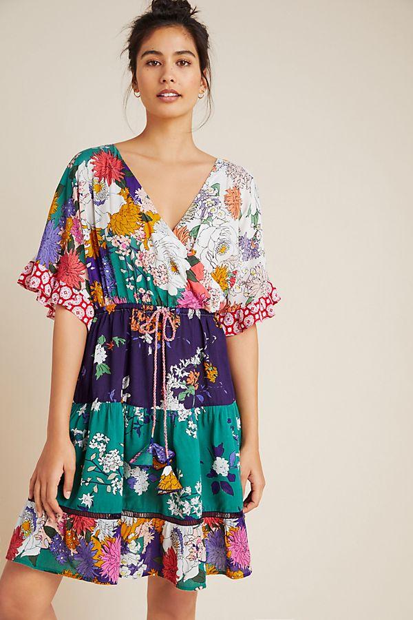 Nettie Tiered Mini Dress