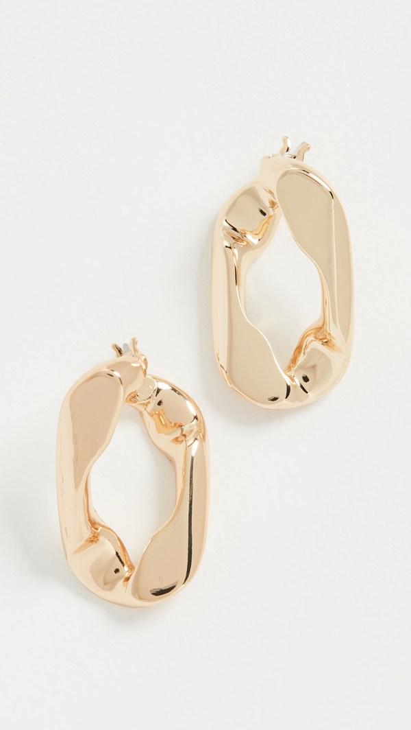 Bauble Bar Michel Large Stud Earrings