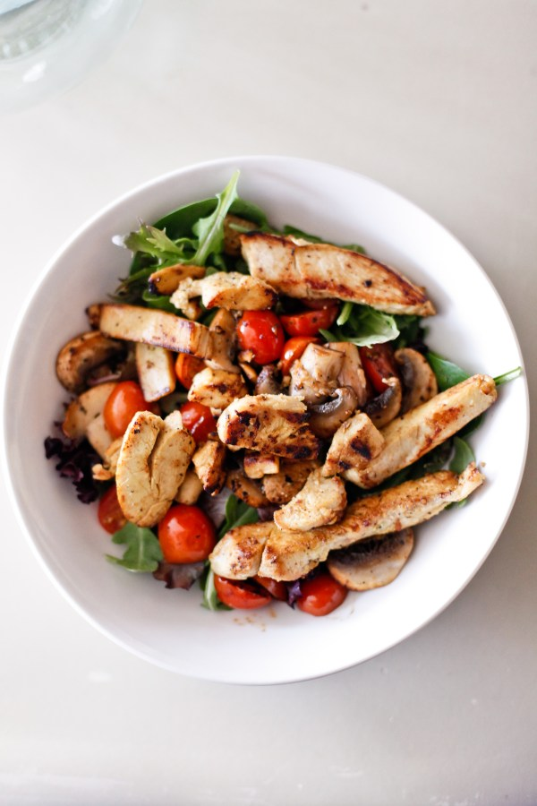 Green Goddess Grilled Chicken Salad Recipe