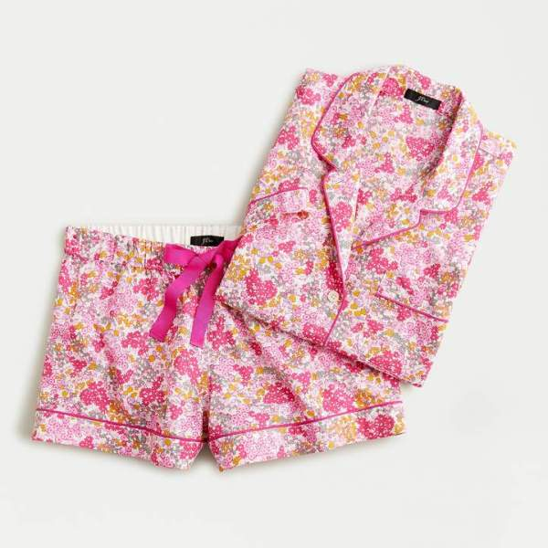 J. Crew Short-sleeve Cotton Pajama Set