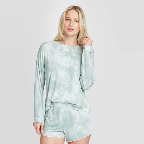 Tie-Dye Beautifully Soft Long Sleeve Pajama Set