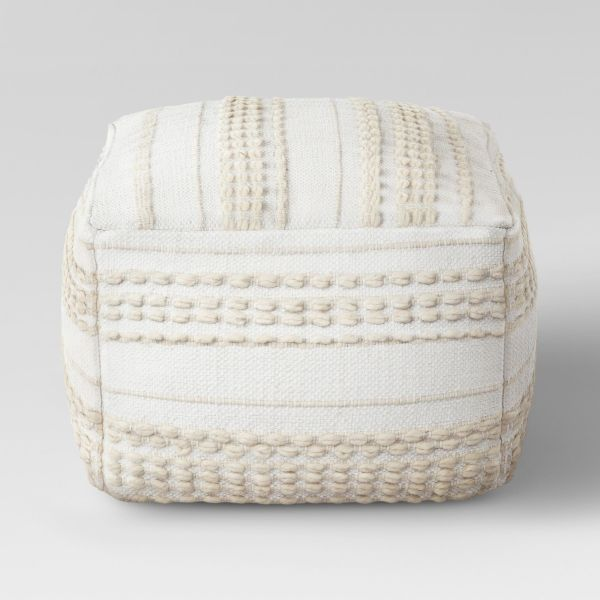 Lory Pouf Textured - Opalhouse