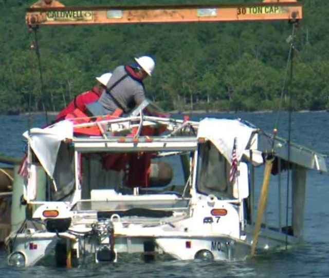 Survivor Of Deadly Mo Duck Boat Accident Wants To Ban The Death Trap Boats