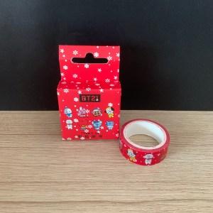 bt21_christmas_washi_tape