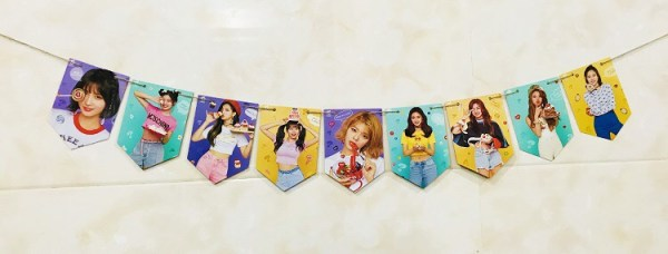 twice photo wall banner what is love