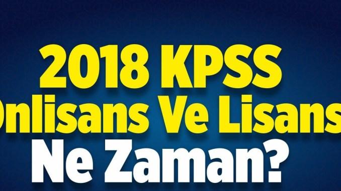 2018 kpss önlisans sınavına hazırlık
