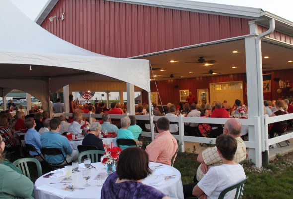 Paint the Orchard Red fundraising dinner generates enthusiasm and support