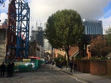 Gentrifizierung in der Brick Lane