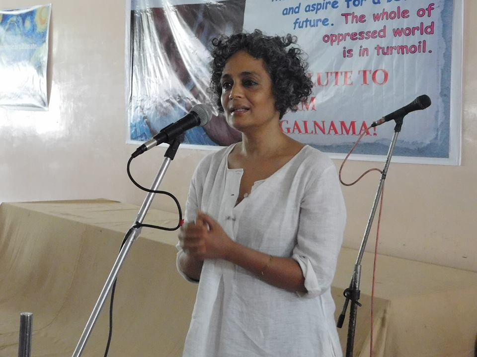 Arundhati Roy: 'The point of the writer is to be unpopular'