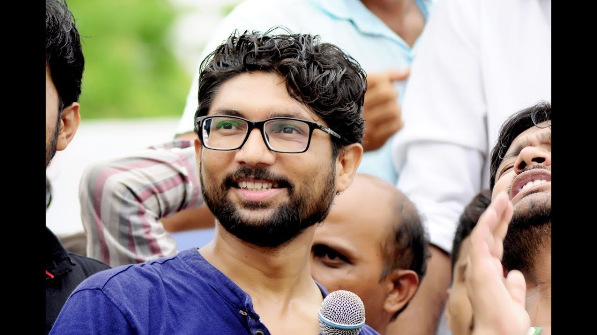 Jignesh Mewani Gujarat's new dalit MP sends message of endorsement to London  Protest
