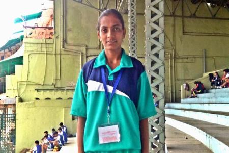 Rescued Hyderabad child bride , now a Rugby...
