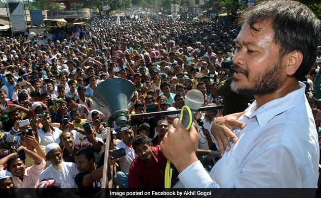 RTI Activist Akhil Gogoi Arrested In Assam Ahead Of Amit Shah's Visit #WTFnews