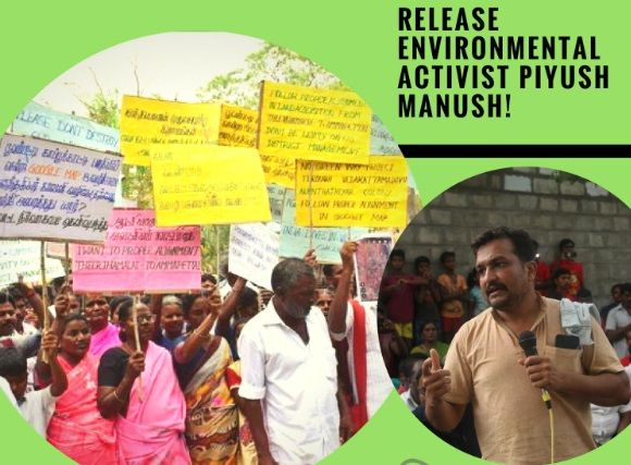 AIPF Fact Finding  on Land Grab For Chennai-Salem Corridor #mustshare