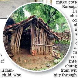 Where women are banished to a 'period hut'...
