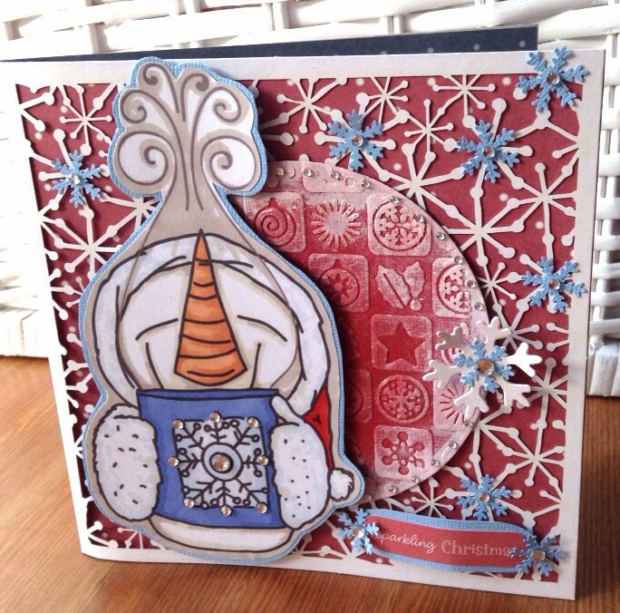 A Festive Challenge over at Crafty Bloggers Network 01