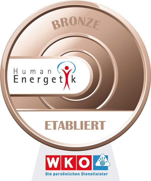WKO Humanenergetik persönliche Dienstleister Bronze Siegel Etabliert