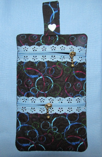 ITH Two Pocket Zipper Bag