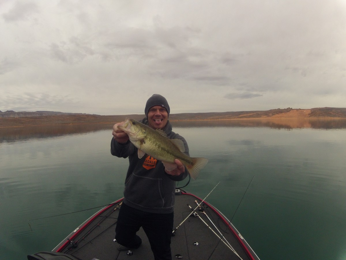 Sand Hollow January Fishing