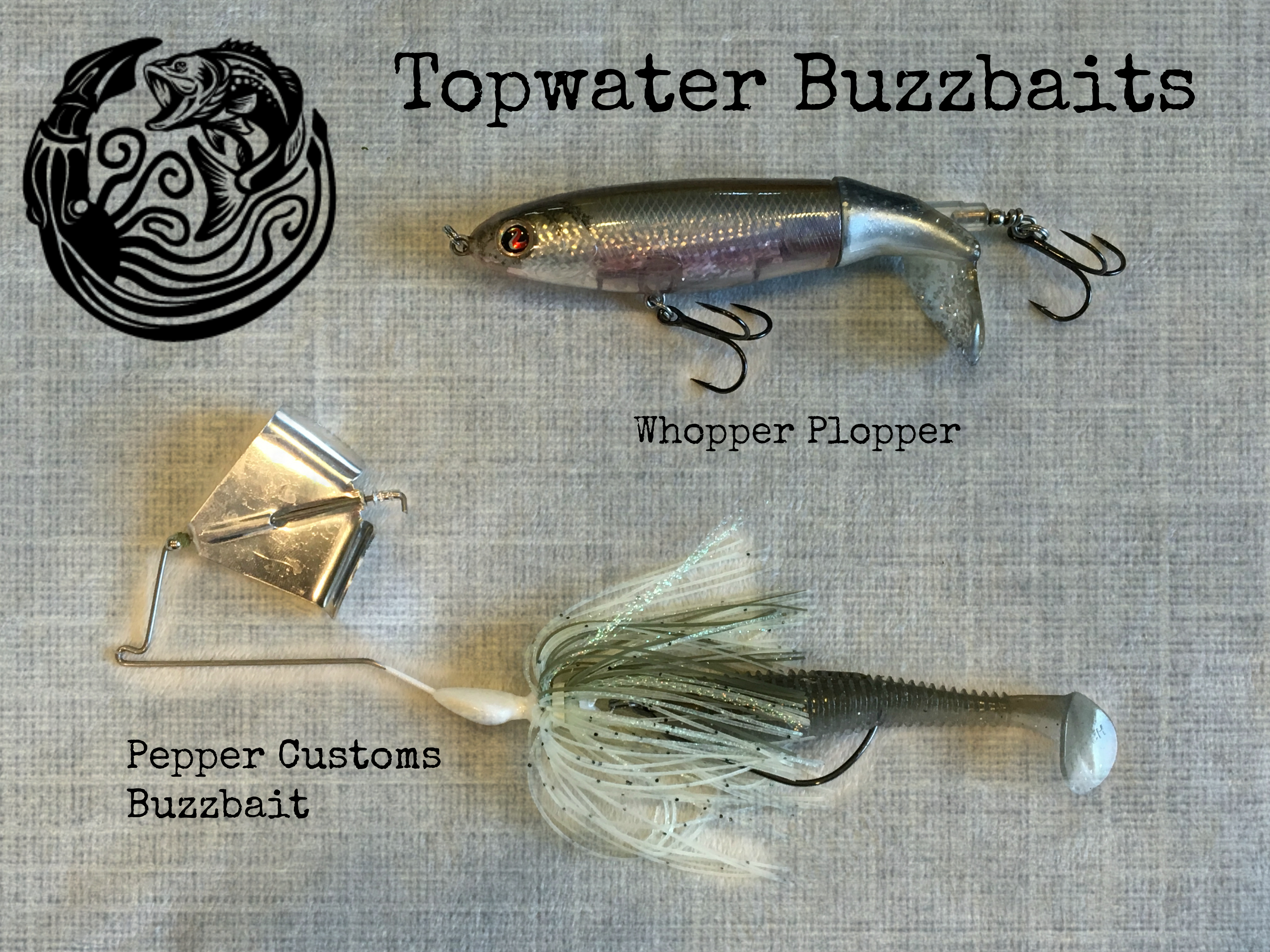Bass fishing topwater lures where when what how to for Best jig for bass fishing