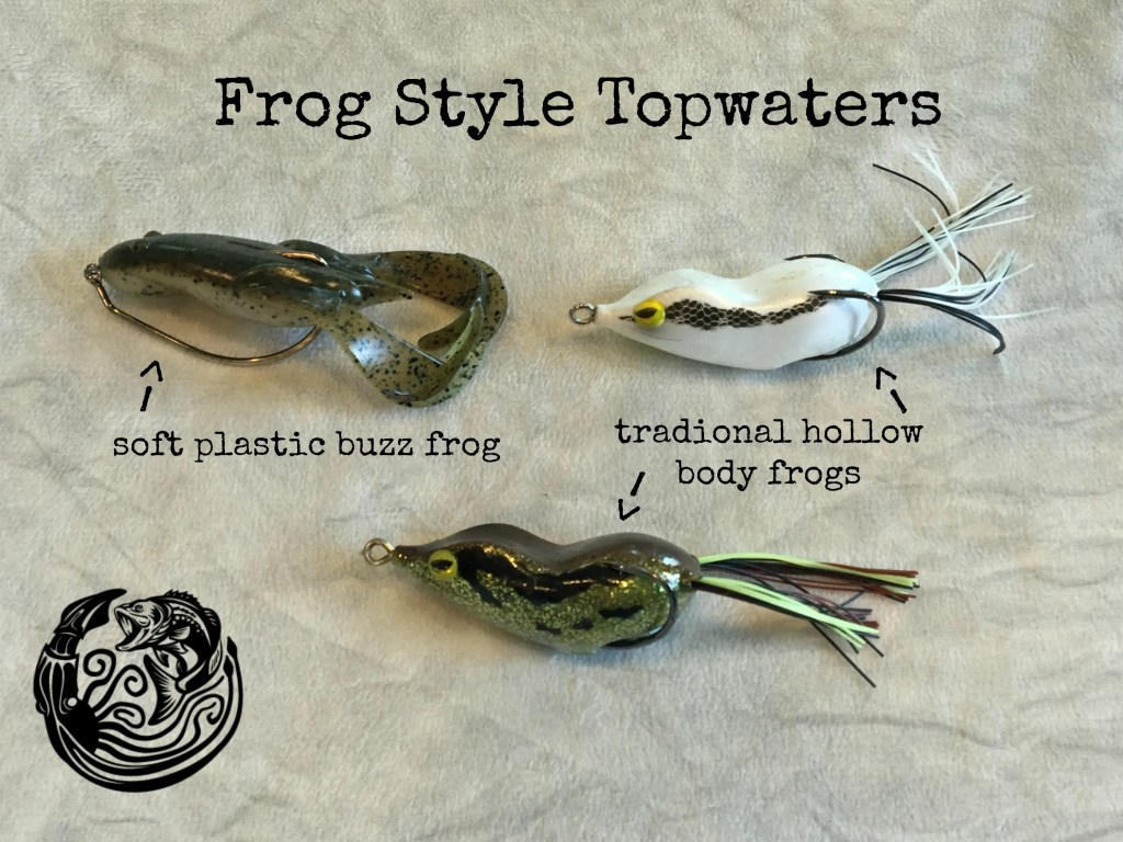 Bass fishing topwater lures where when what how to for Lures for bass fishing