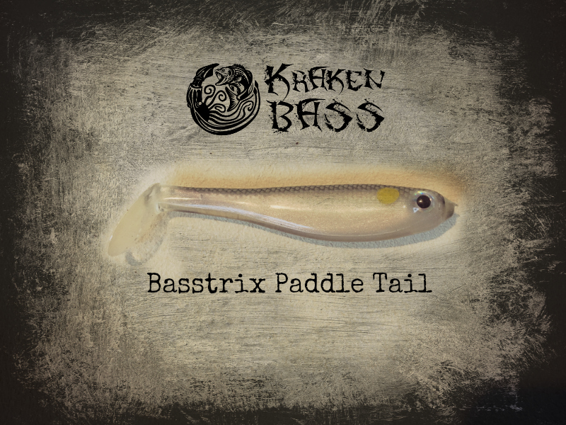 Basstrix Paddle Tail Best Softplastic Swimbait