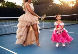 Serena Williams & Daughter Olympia make one Adorable Pair