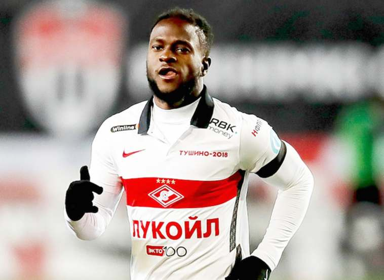 Victor Moses named in Russian Premier League