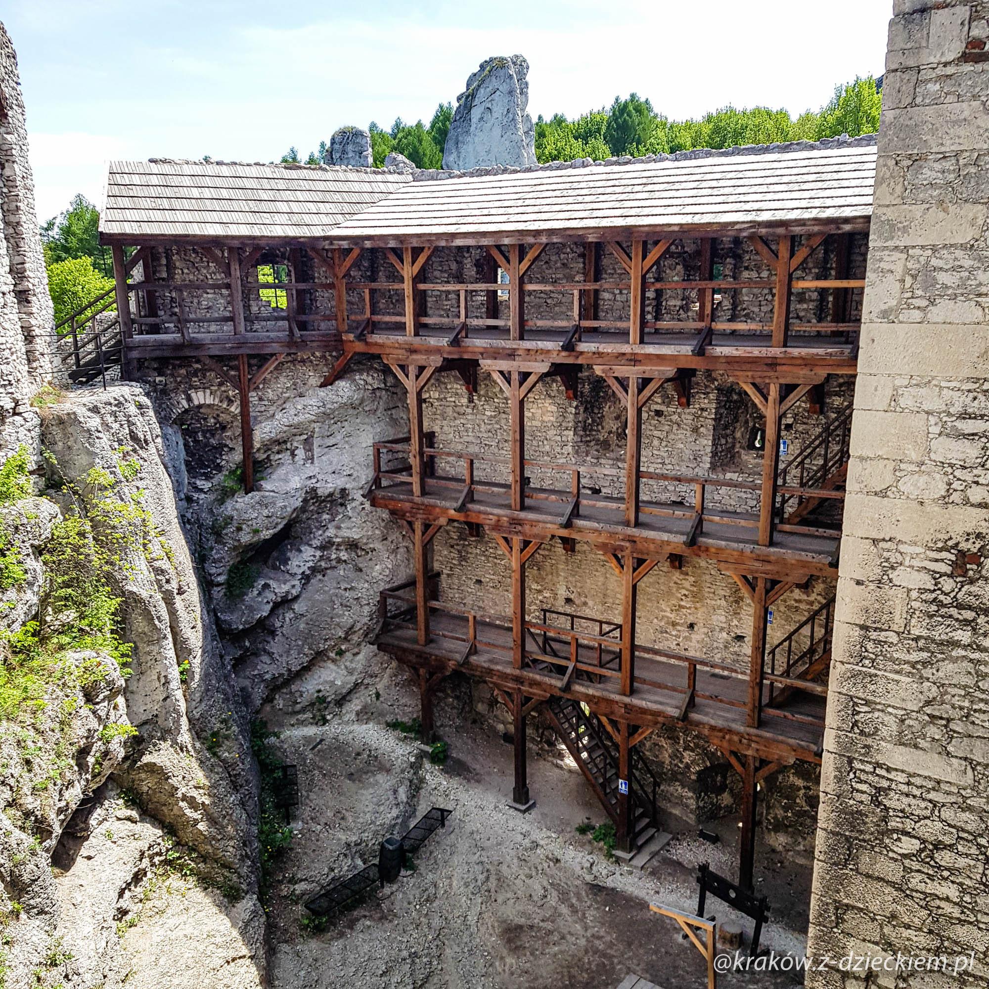 zamek podzamcze