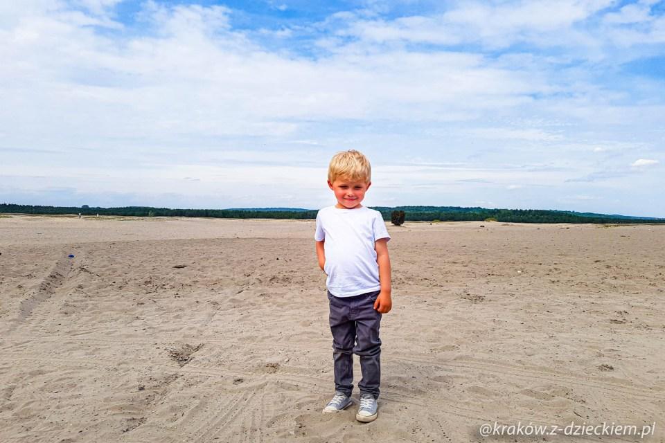 dziecko i pustynia bledowska