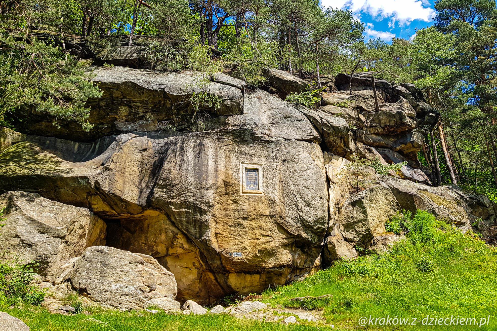 grunwald, skamieniałe miasto