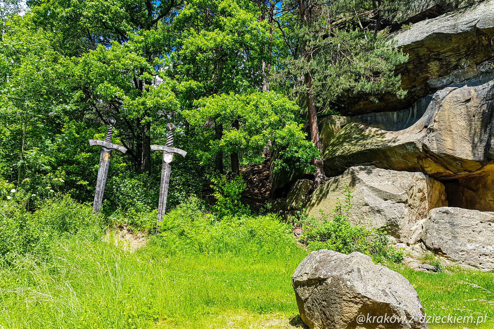 skała grunwald, skamieniałe miasto