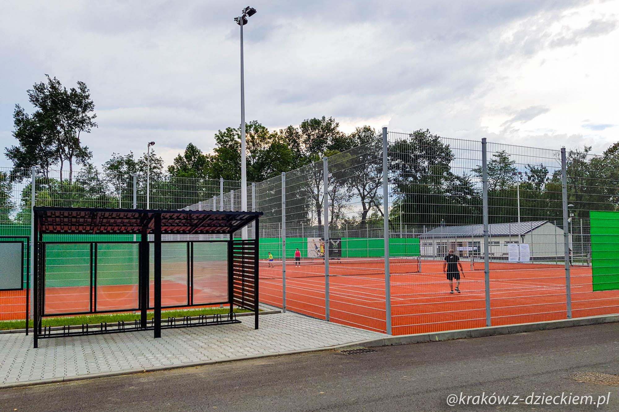 korty tenisowe Dobczyce