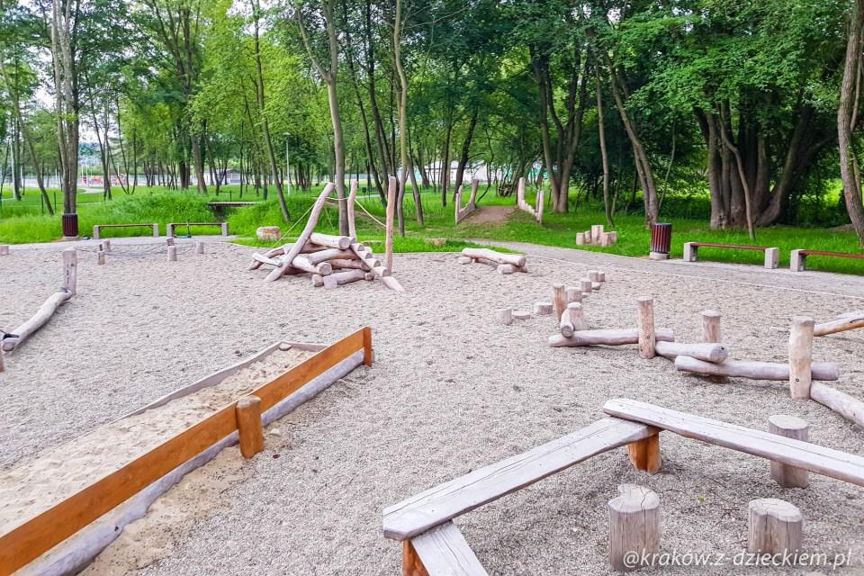 naturalistyczny plac zabaw w Dobczycach