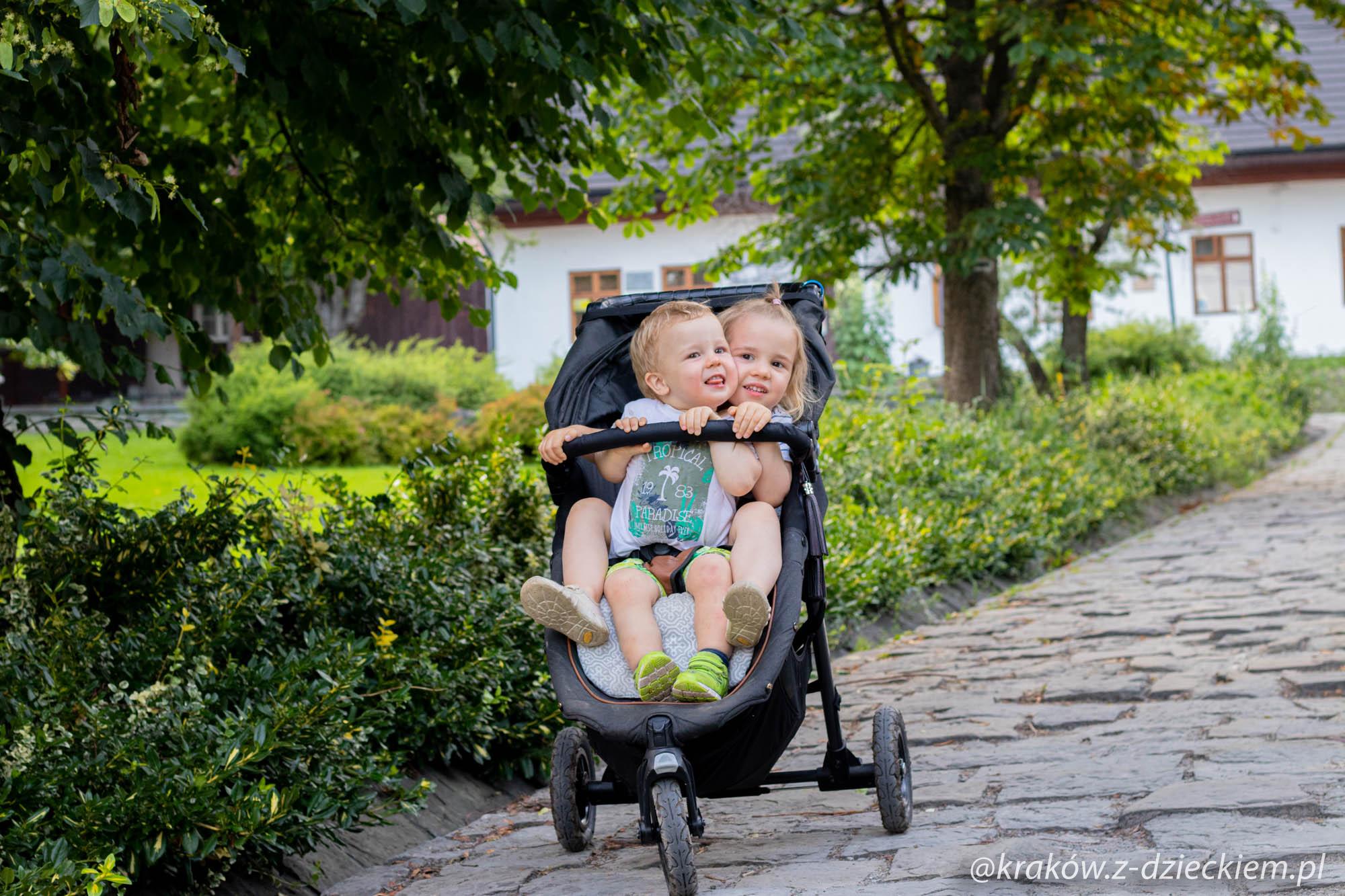 Lanckorona z dziećmi