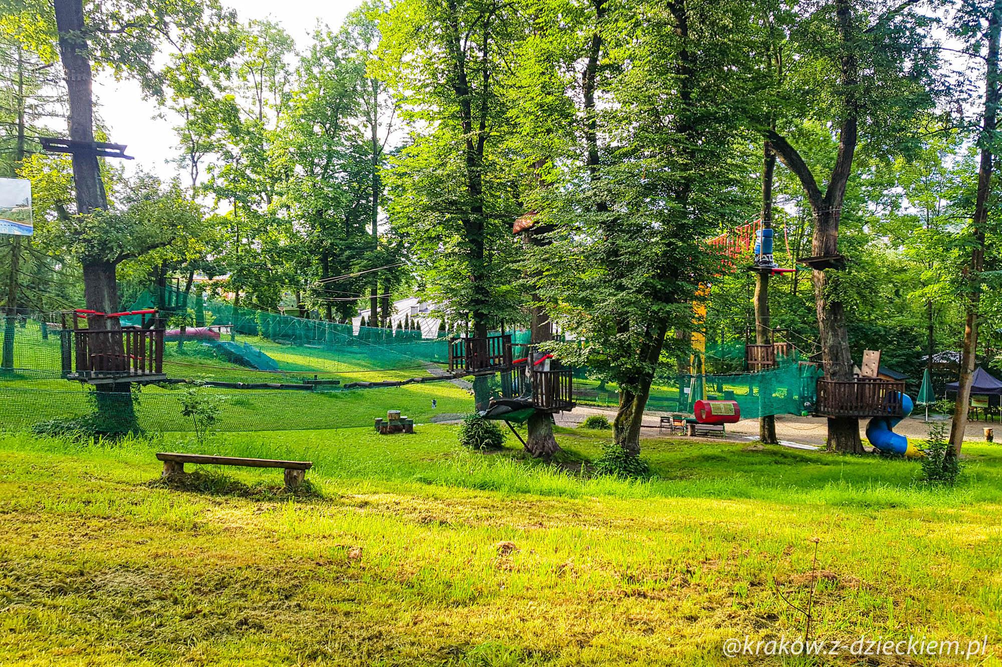 park linowy, Rabka-Zdrój