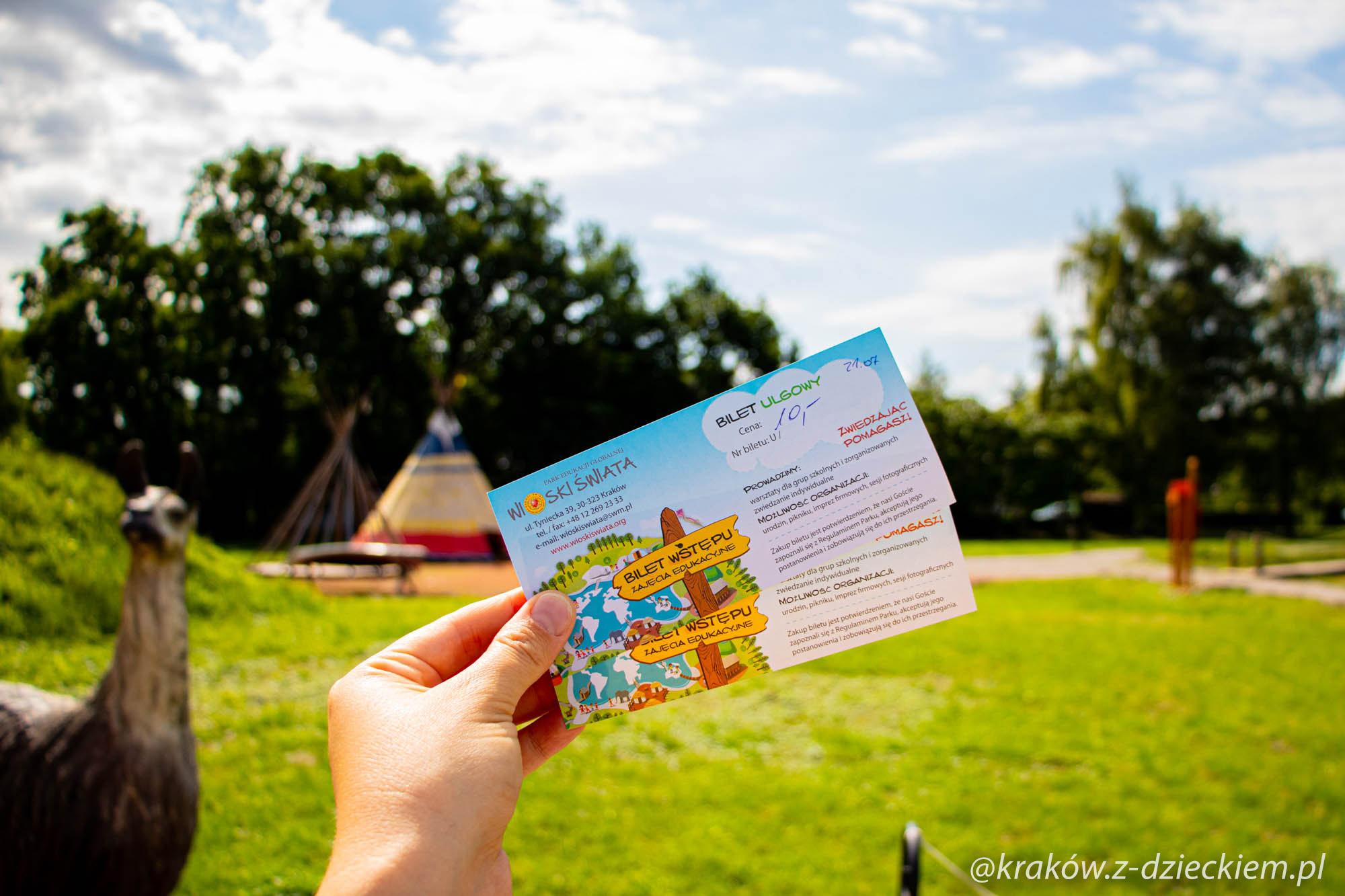 bilet wioski świata