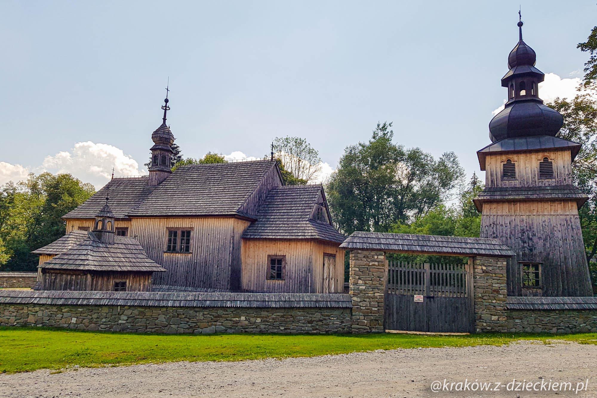 Kościół z Tokarni, Orawski Park Etnograficzny