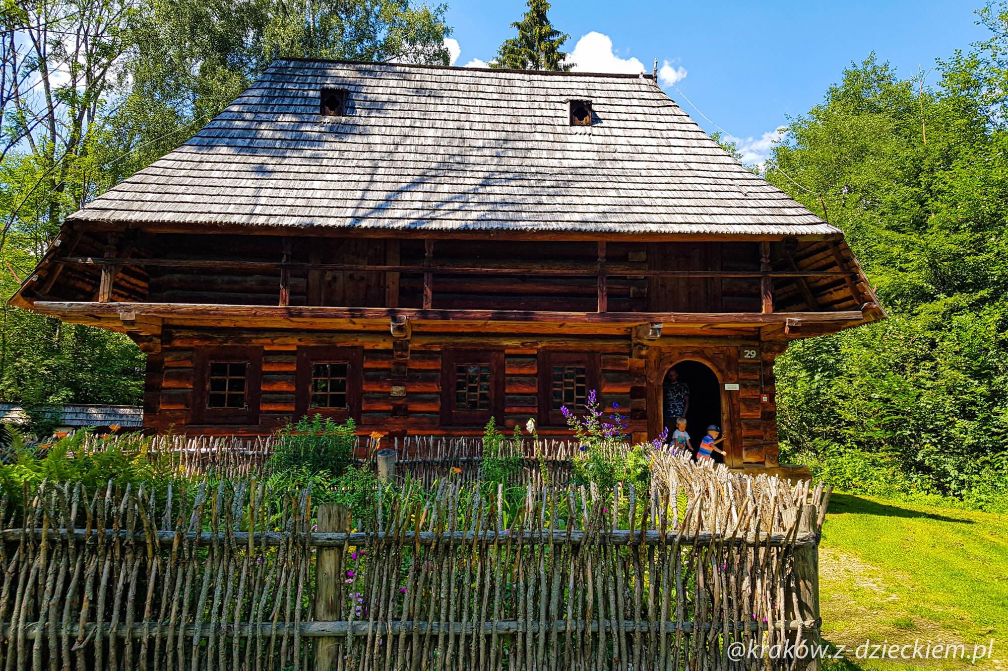 chata, Orawski Park Etnograficzny