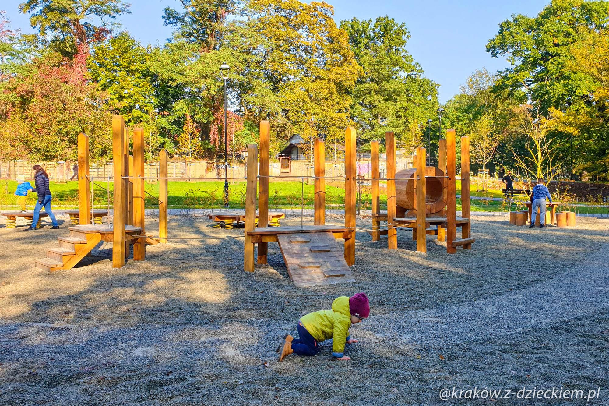 Park Jerzmanowskich - nowy plac zabaw