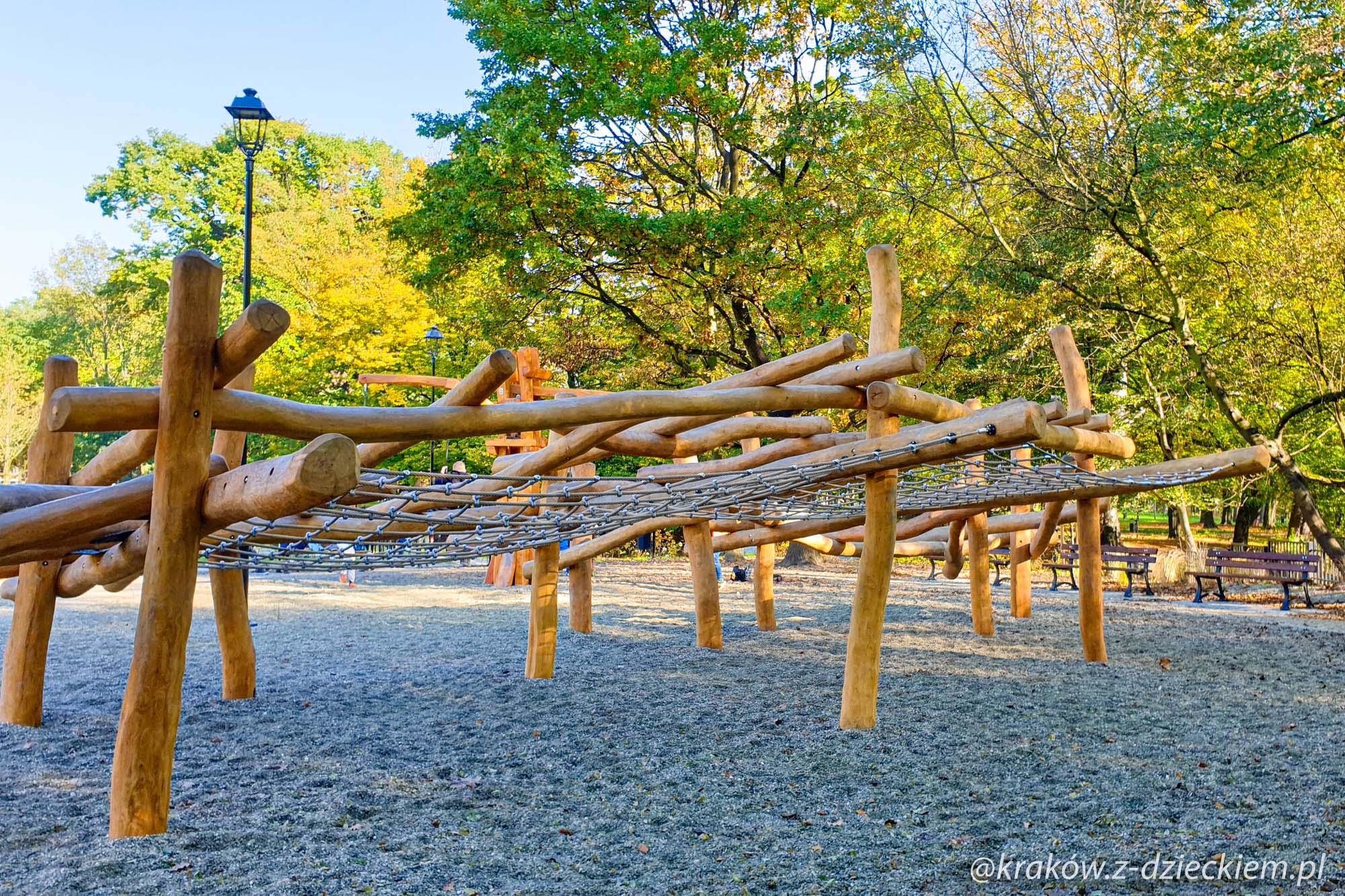 pajęczyna, Park Jerzmanowskich