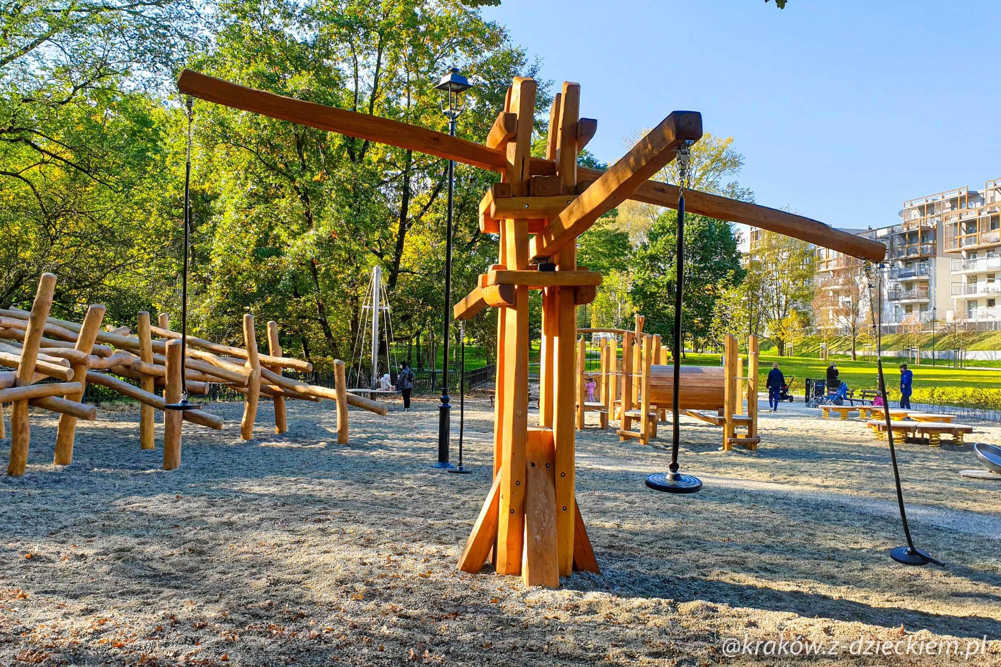 huśtawka, Park Jerzmanowskich