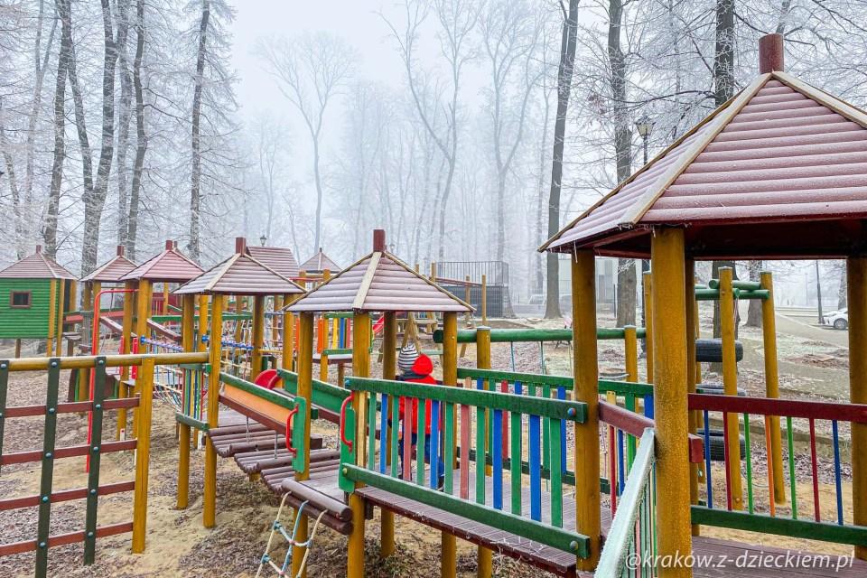 park Uzbornia Bochnia, plac zabaw