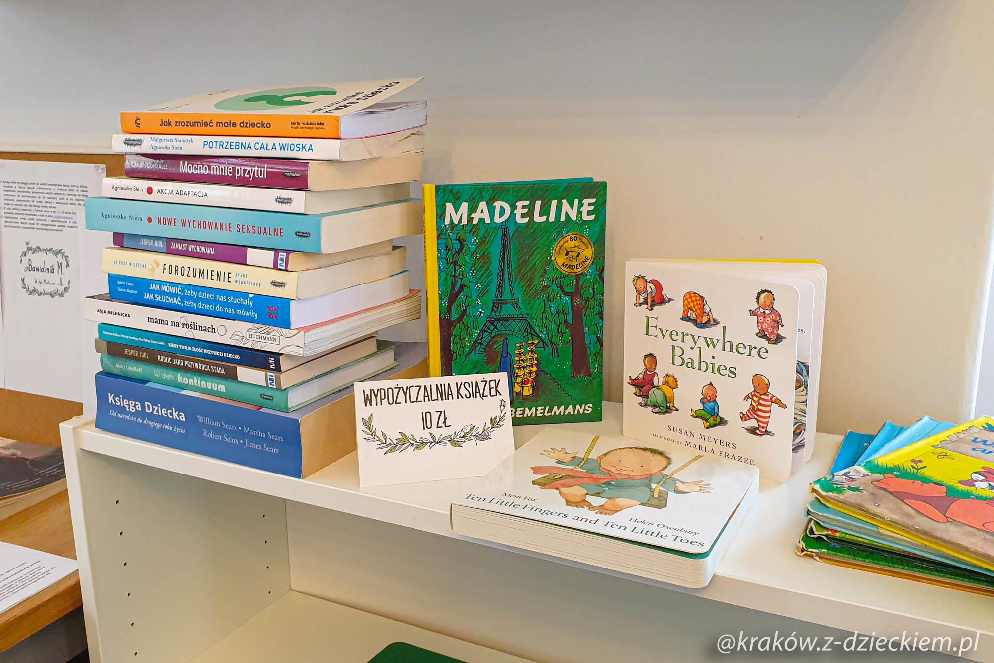książki do wypożyczenia