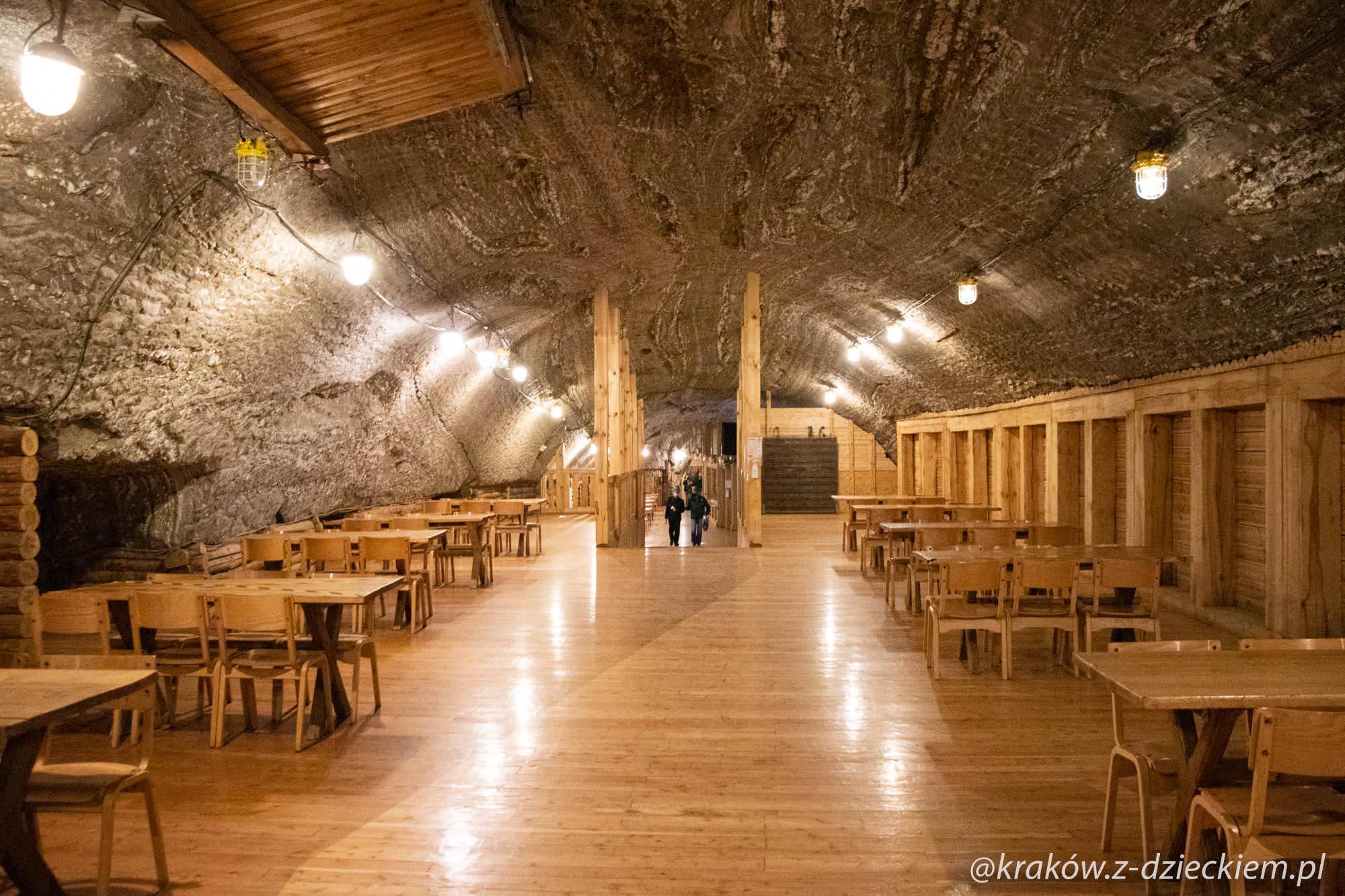 komora Ważyn, kopalnia soli w Bochni