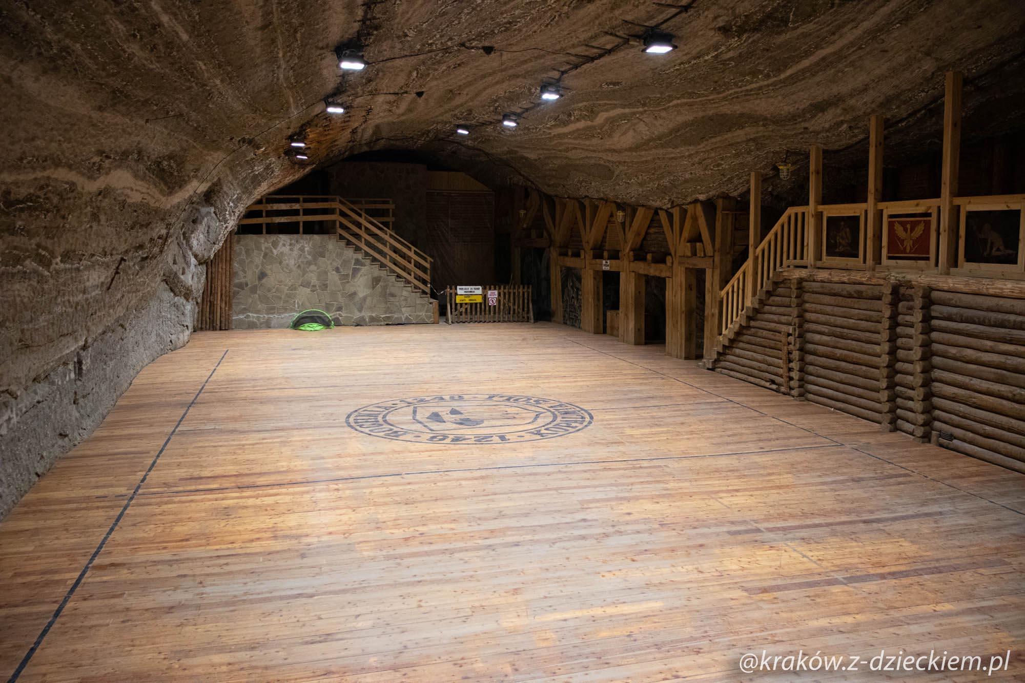 boisko, kopalnia soli w Bochni