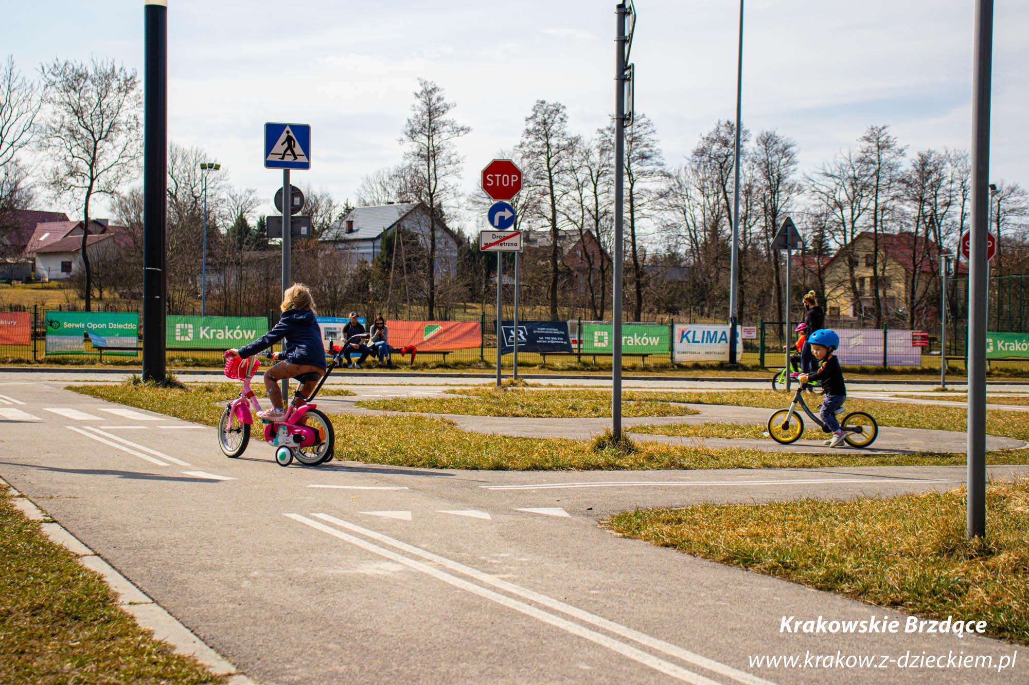 Swoszowice miasteczko ruchu drogowego