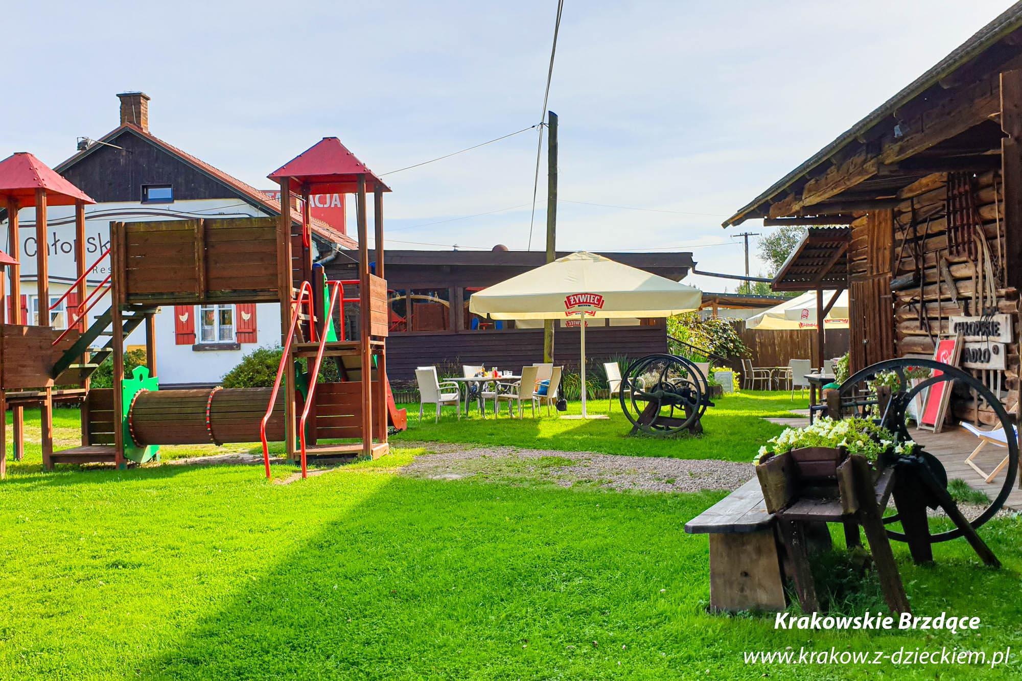 plac zabaw restauracja