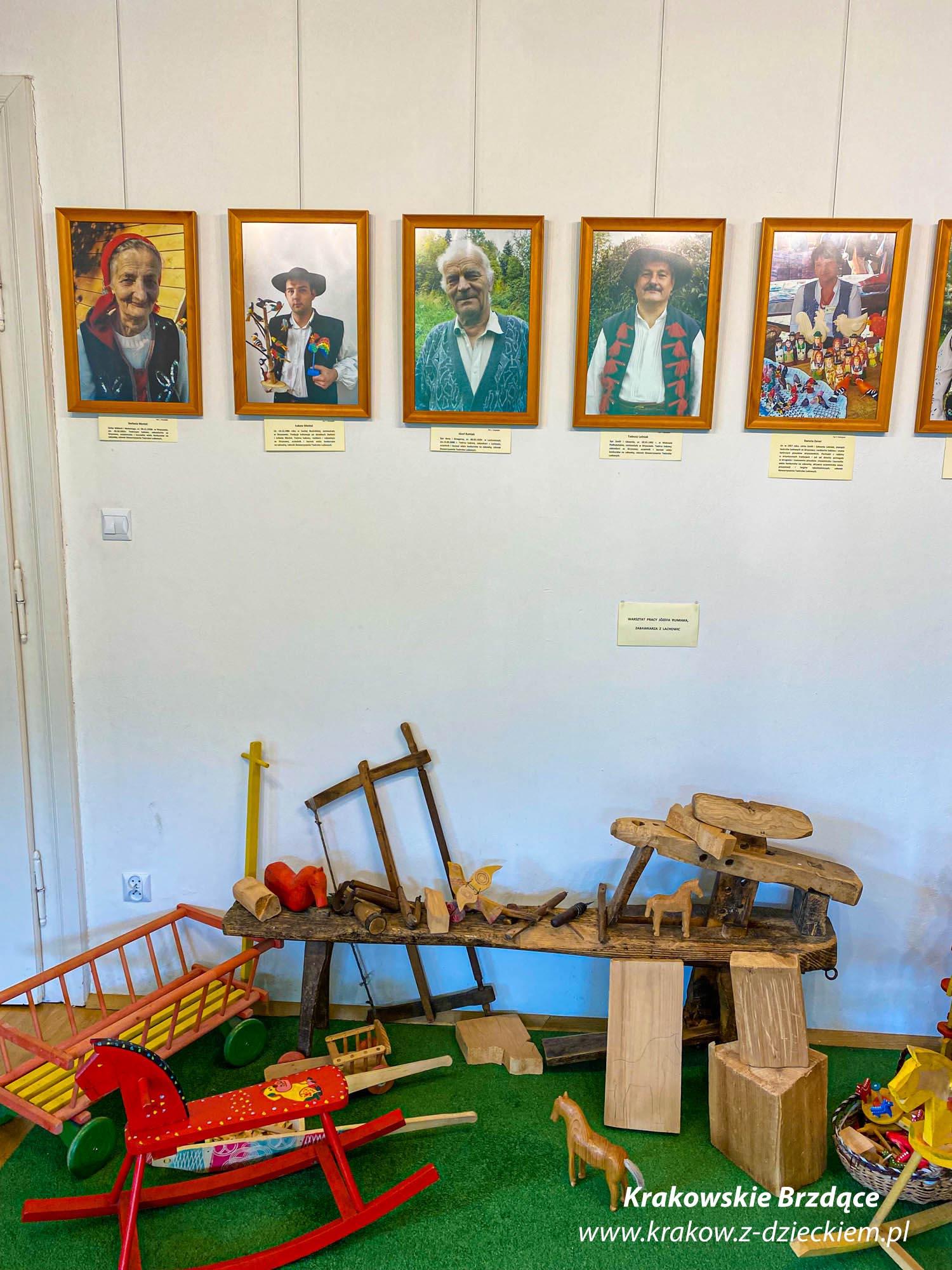 Muzeum Zabawki Drewnianej w Stryszawie