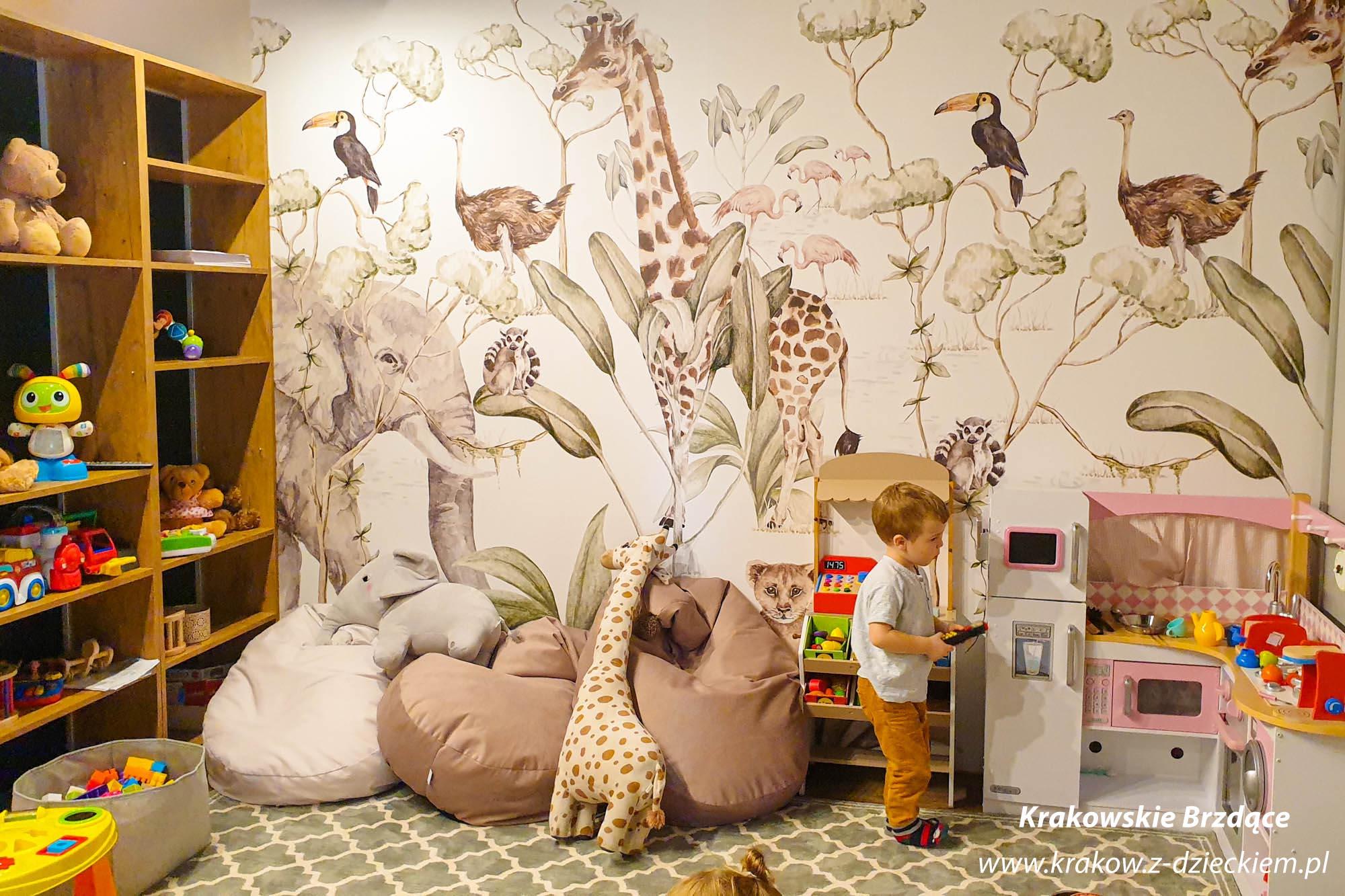 kącik zabaw restauracja Kraków