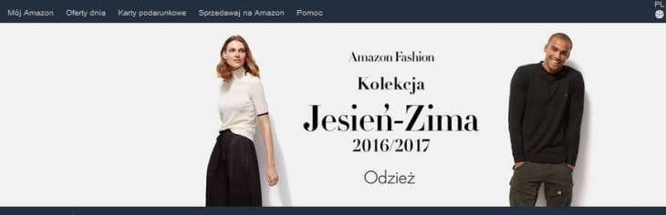 You can shop at Amazon.de in Polish